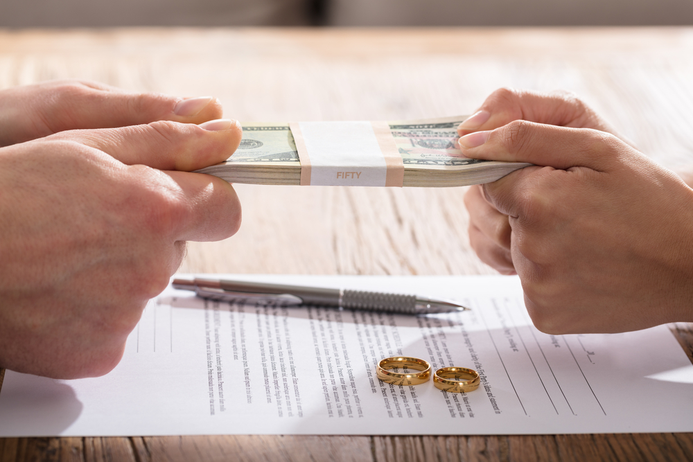 How do I protect myself financially in a divorce
