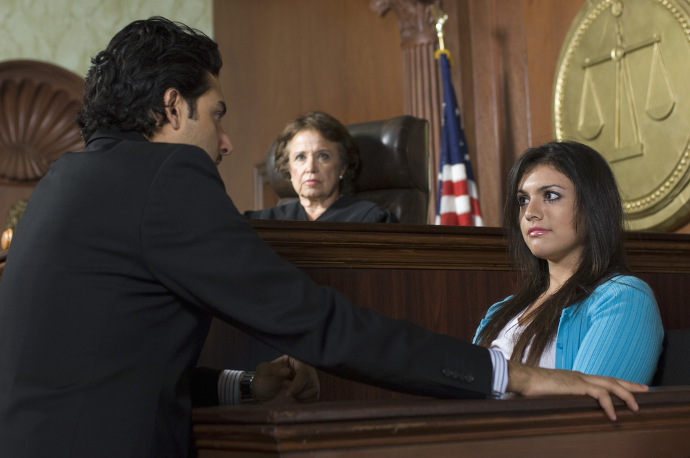 What happens during a deposition