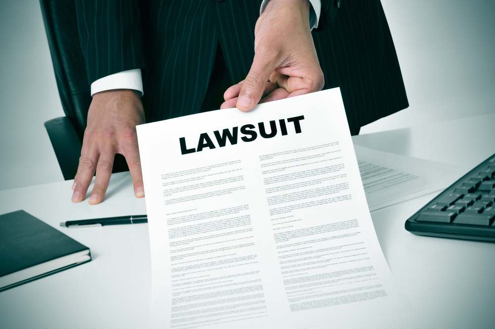 What happens when a lawsuit is filed against you
